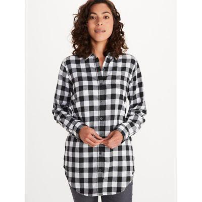 Women's Nicolet Lightweight Long-Sleeve Flannel Shirt