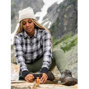 Women's Barrie Lightweight Long-Sleeve Flannel Shirt image number 4
