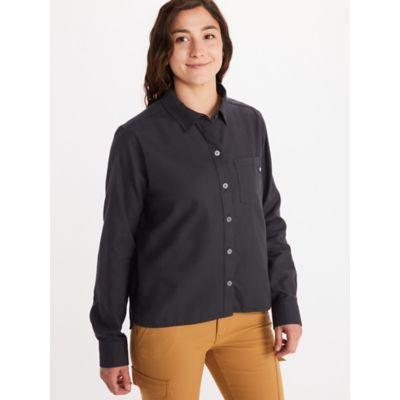 Women's Barrie Lightweight Long-Sleeve Flannel Shirt