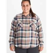 Women's Bridget Long-Sleeve Flannel Shirt Plus image number 0