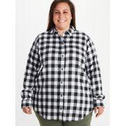 Women's Nicolet Lightweight Long-Sleeve Flannel Shirt Plus image number 2