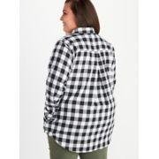 Women's Nicolet Lightweight Long-Sleeve Flannel Shirt Plus image number 3