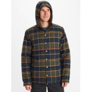 Men's Lanigan Insulated Long-Sleeve Flannel Hoody image number 0