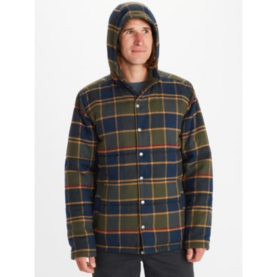 Men's Lanigan Insulated Long-Sleeve Flannel Hoody