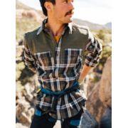 Men's Needle Peak Midweight Flannel Shirt image number 5