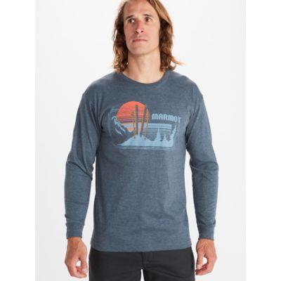 Men's Freestyle Long-Sleeve T-Shirt