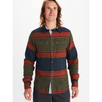 Men's Del Norte Midweight Flannel Long-Sleeve Shirt