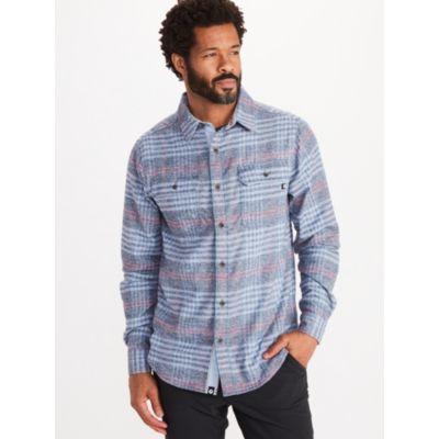 Men's Jasper Midweight Flannel Long-Sleeve Shirt