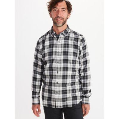 Men's Harkins Lightweight Flannel Long-Sleeve Shirt