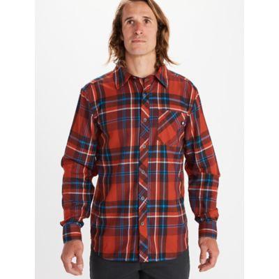 Men's Anderson Lightweight Flannel Long-Sleeve Shirt