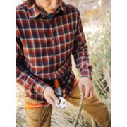 Men's Fairfax Midweight Flannel Long-Sleeve Shirt image number 4