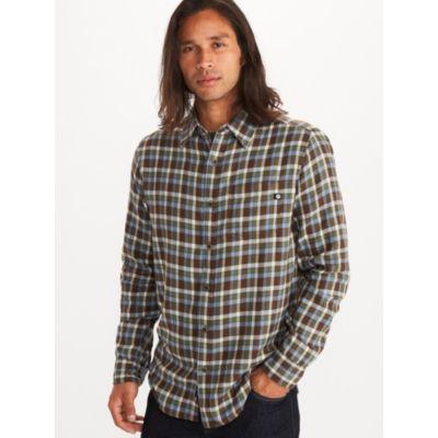 Men's Fairfax Midweight Flannel Long-Sleeve Shirt