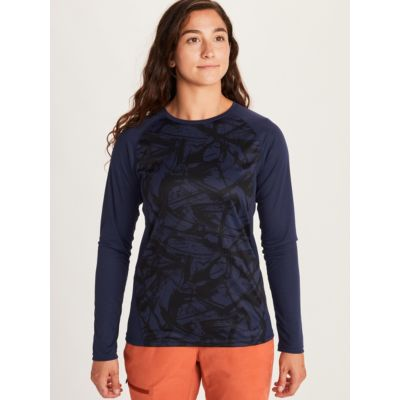 Women's Crystal Long-Sleeve Shirt