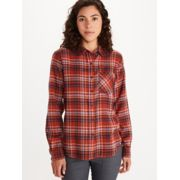 Women's Maggie Lightweight Flannel Long-Sleeve Shirt image number 0