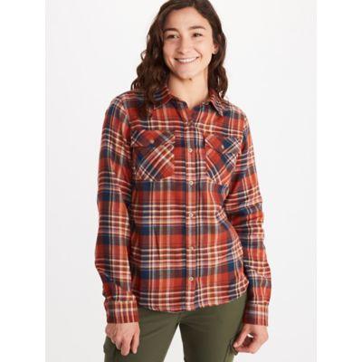 Women's Bridget Midweight Flannel Long-Sleeve Shirt