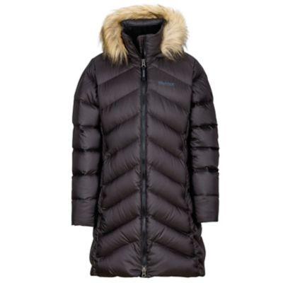 76180-1332-Girl's Montreaux Coat-TRBLK