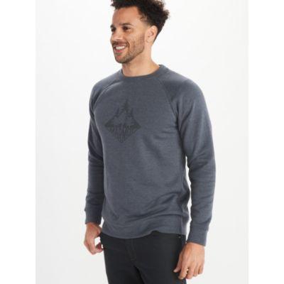 Men's Forest Crew-Neck Sweatshirt